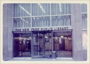 The old Donnell Library.