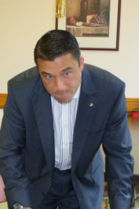 Congressman Grimm is not pleased. (Photo: Facebook)