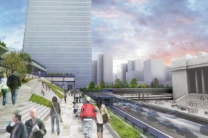 One of the renderings. (H3 Hardy Collaboration Architects).
