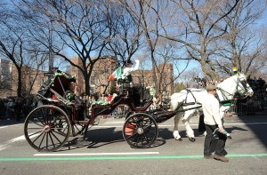 Advocates want the city to ban horse-drawn carriages. (Photo by Michael Loccisano/Getty Images)