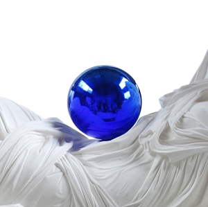 Detail of 'Gazing Ball (Ariadne),' 2013. (© Jeff Koons/David Zwirner)