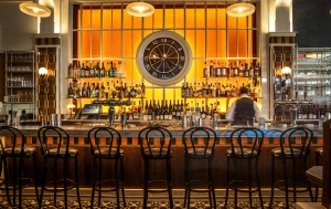 The bar at Lafayette.