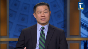 John Liu on NY1. (Photo: ny1.com)