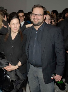 Maureen Paley and Molon. (Courtesy PMC)