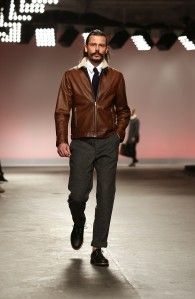 A look from the Oliver Spencer Autumn/Winter 2013 collection.