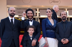 Asghar Farhadi, right, director of The Past. (Getty Images)
