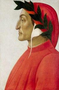 Sandro Botticelli's 1495 portrait of Dante. (Wikicommons)