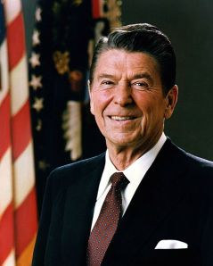 Reagan. (Courtesy the Executive Office of the President of the United States)