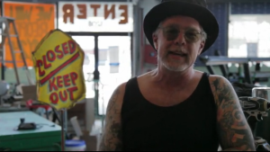 Dick Zigun, founder of the Mermaid Parade (Featured in the Mermaid Parade Kickstarter video)