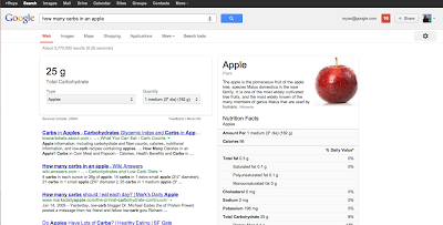 Good or bad? Starting today, this will happen when you search for food on Google. (Google Inside Search)