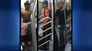 subway attackers