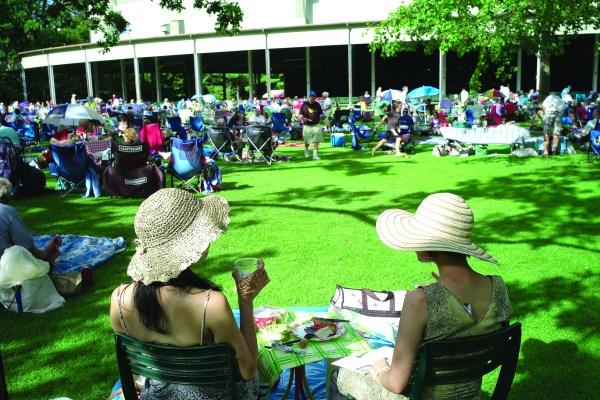 Summer standby: Picnic at Tanglewood.
