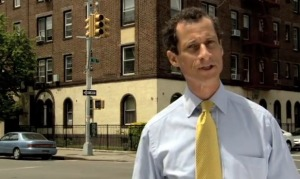 Anthony Weiner's launches his campaign. (http://www.anthonyweiner.com)