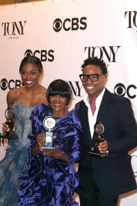 Patina Miller, Cicely Tyson, Billy Porter.