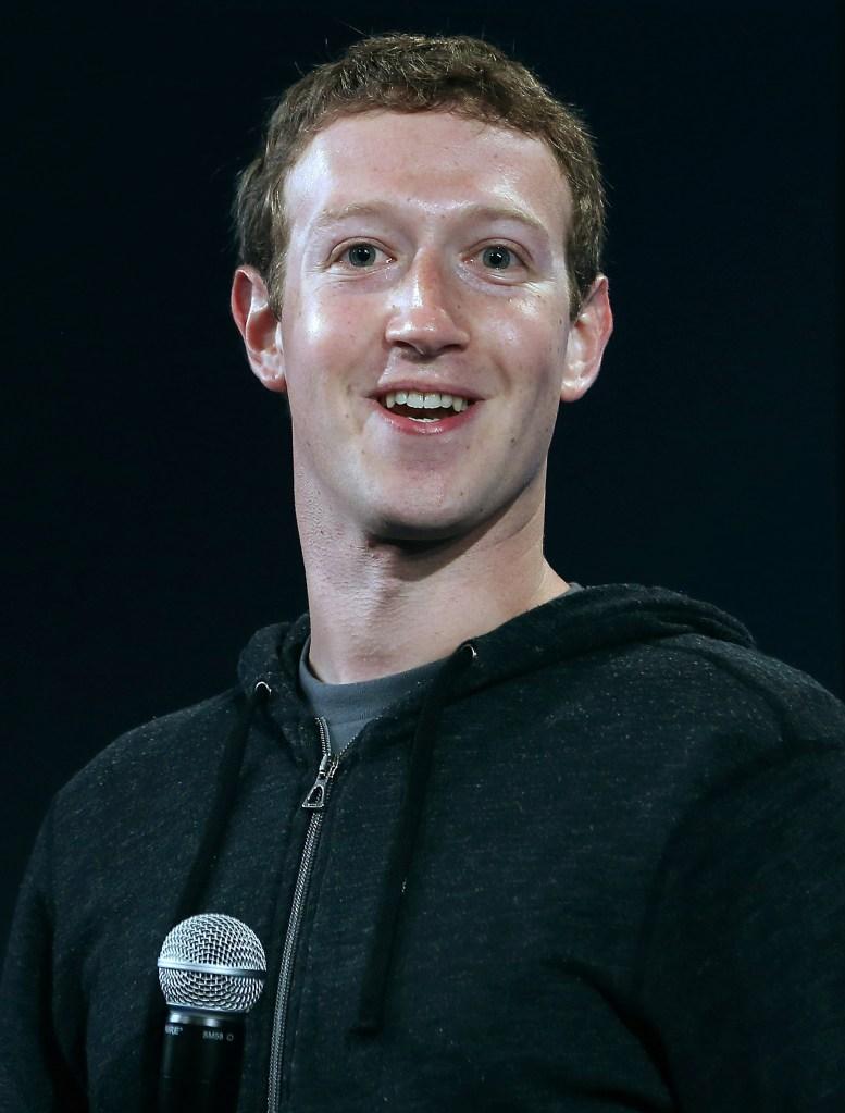 Mr. Zuckerberg. (Photo by Justin Sullivan/Getty Images)
