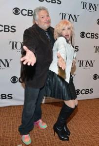 Harvey Fierstein and Cyndi Lauper.