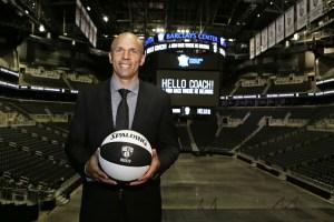 New Nets head coach Jason Kidd.