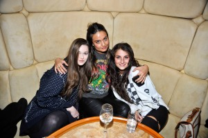 Sydney Reising, Marielou Bartoli, Laura Marciano.