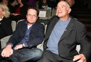 Michael J. Fox and Gary David Goldberg (Getty Images)