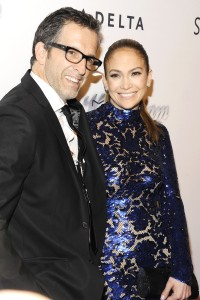 Kenneth Cole and Jennifer Lopez.