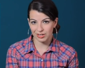 Anita Sarkeesian. (Screencap: YouTube)