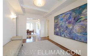The sellers, for reasons that remain unclear to us, renovated the foyer so that it would be extra large.