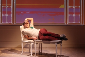 Michael Urie in 'Buyer & Cellar.' (Photo by Joan Marcus)