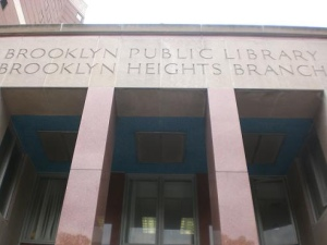 The Brooklyn Heights branch may not be long for this world. (flickr)