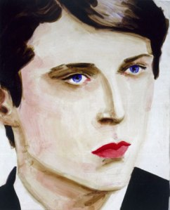 """Elizabeth Peyton, """"Democrats Are More Beautiful (after John Horowitz)."""" (Courtesy the artist and Gavin Brown's Enterprise)"""