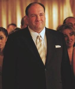James Gandolfini as Tony Soprano in The Sopranos.