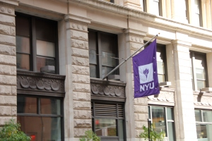 An NYU student is in trouble because of a crazy, exploitative stunt.