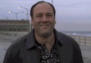 "Mr. Gandolfini in Asbury Park. (Screengrab: ""The Sopranos"")"