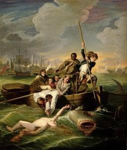 John Singleton Copley's 'Watson and the Shark,' 1782. (Courtesy DIA)