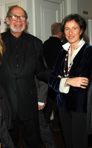 Mnuchin and Lévy. (Courtesy PMC)