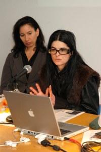 Andrea Fraser and Gangitano. (Courtesy PMC)