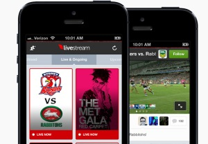 Check out the new Livestream mobile app.