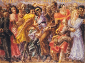 'Harlem, Tuesday Night at the Savoy,' 1932. (© 2013 Estate of Reginald Marsh/Art Students League/Artists Rights Society (ARS), New York)
