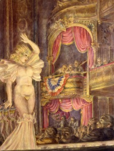 Reginald Marsh, 'Star Burlesque,' 1933. (© 2013 Estate of Reginald Marsh/Art Students League/Artists Rights Society (ARS), New York)