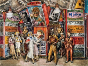'Twenty Cent Movie,' 1936. (© 2013 Estate of Reginald Marsh/Art Students League/Artists Rights Society (ARS), New York)
