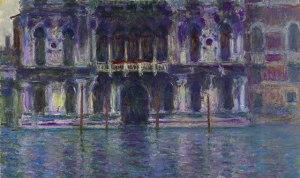 "Monet, ""Le palais contarini"" (Courtesy Christie's)"