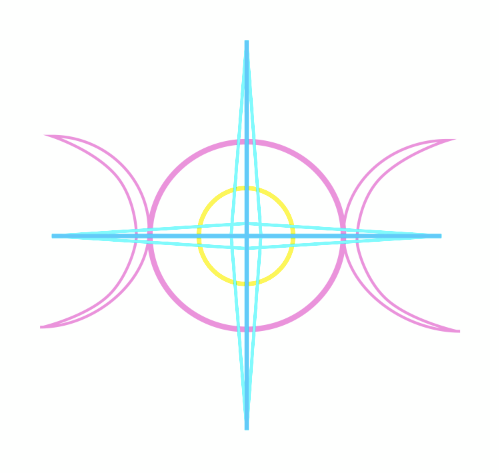 The group's logo, which probably represents something womanly.