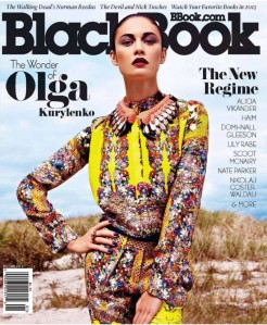 The latest issue of BlackBook.