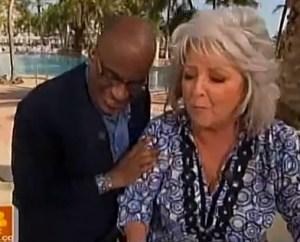 Paula Deen and her black friend.