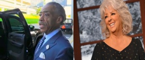Al Sharpton and Paula Deen.  (TMZ, Getty)