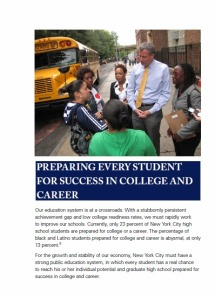 A page from Bill de Blasio's new policy book.