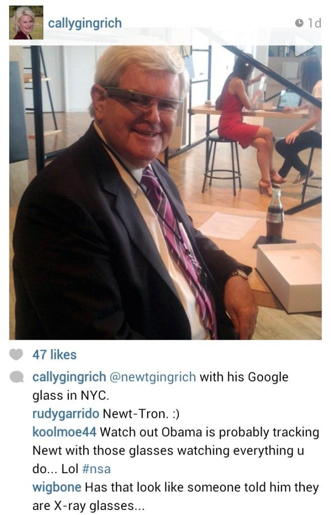 Mr. Gingrich.