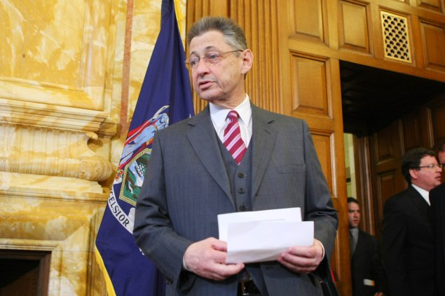 Sheldon Silver. (Photo: Daniel Barry/Getty Images)