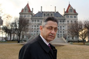 Shelly Silver in Albany. (Photo: Getty)