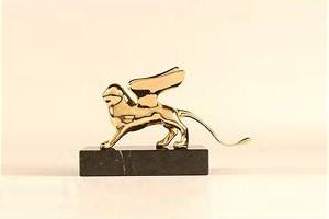 The Golden Lion. (Courtesy the Venice Biennale)