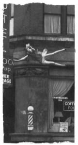 'Unidentified Woman, Genessee Hotel,' 1980. (Courtesy Inglett Gallery)
